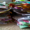 How to Organize and Store Kids School Papers