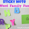 Pre-Reading Activity: Building a Word Family
