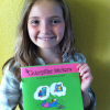 Caterpillar Stickers: Ten Year-Old with Dyslexia Co-Authors New Children's Book