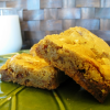 Leftover Halloween Candy Recipes: Snickers Blondies