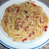 Linguine with White Bean and Olive Sauce