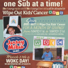 Help Wipe Out Kids Cancer on March 27th with Jersey Mike's