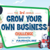 Grow Your Own Business Challenge Competition for Ages 7-14