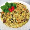 Spinach, Mushroom and Tomato Frittata