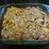 Apple Crisp: Quick Dessert and Perfect for Your Football Party Menu!