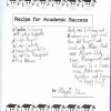 My Daughter's Recipe for Success in School