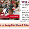 Help our friends at This Side Up! Family Center - Vote for a Cause