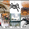 A Roundup of 6 Halloween Spider Crafts