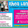 Rhea Lana's Frisco : Children's Consignment Event Feb 24-28