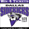 Win Tickets to See Dallas Sidekicks Dec 14th Home Game