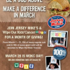 Buy a Sub on March 26th and 100% of Sales Goes to Wipe Out Kids' Cancer