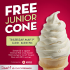 Free Soft Serve at Carvel on May 1st