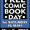 Free Comic Book Day is May 6th
