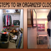 Six Steps to Organize Your Closet in One Weekend