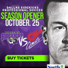Flash Giveaway: Win 6 Tickets to Dallas Sidekicks this Weekend!