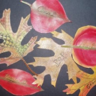 Easy Craft Idea for Thanksgiving Place Cards: Fun with Fall Leaves!