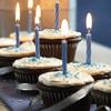 Edible Traditions: Cupcake Menorah