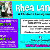 Rhea Lana's – A Children's Consignment Event