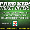 Free Kids Tickets to Dallas Stars Games in February