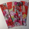 Easy Valentine Gift for Teachers: Decoupage Valentine Bookmarks