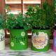 Easy Kids Crafts : Tin Can Herb Garden