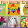 11 Fun Easter Crafts: Bunnies, Chicks and Tulips