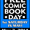 Free Comic Book Day is May 3rd