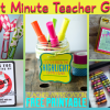 5 Last Minute Teacher Gift Ideas