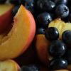 Summer Smoothie: Blueberry Peach