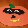 Fun Fall Crafts: Felt Pumpkin Craft
