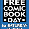 Free Comic Book Day Saturday, May 2nd