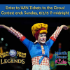Win Tickets to see Ringling Bros. and Barnum & Bailey Presents LEGENDS!