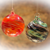 They Made Handblown Glass Ornaments!