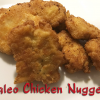 Paleo Chicken Nuggets that are Gluten-Free and Dairy Free