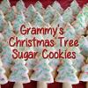 Homemade Christmas Tree Cookies