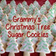 Homemade Christmas Tree Cookies