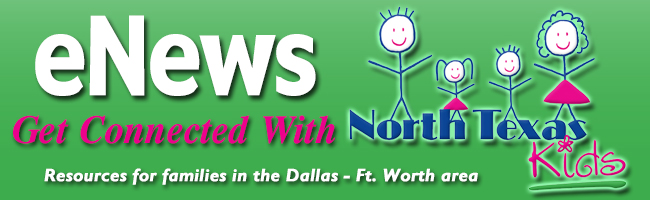 North Texas Kids Magazine eNewsletter Header