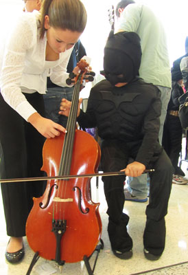 Spooky Symphony - Instrument Petting Zoo