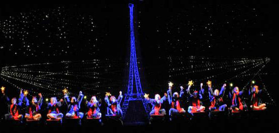 Magic Carpet Ride over Paris - Madeline's Christmas
