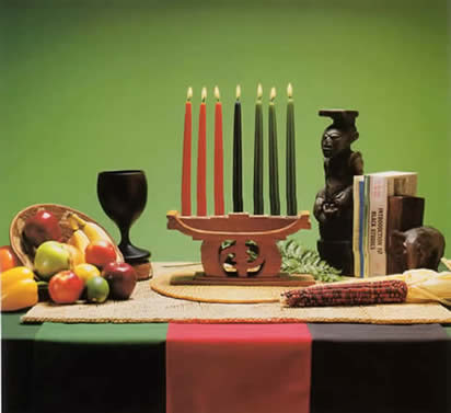Kwanzaa Table Setting