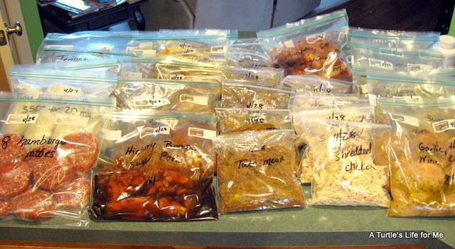 Bulk Cooking Freezer Bags