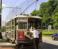 McKinney Ave M-Line Trolley - free things to do in Dallas - North Texas Kids Magazine