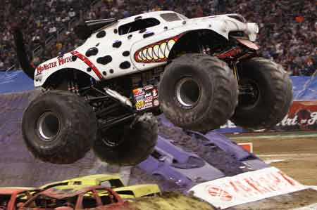 Monster Mutt Dalmatian - Monster Jam
