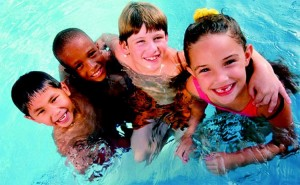 Swimming lessons summer camps