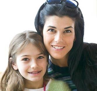 Braces Mom & Daughter