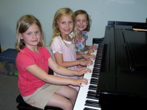 Private group piano lessons