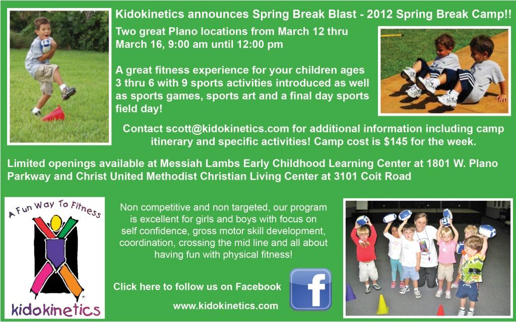 Kidokinetics Spring Break Camp