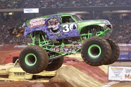 Monster Jam Cowboys Stadium