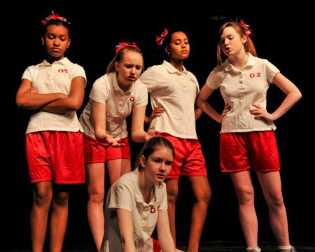 Secret Lives of Girls - Volley Ball Team - Dallas Children's Theater