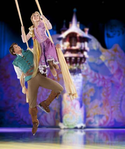 Disney on Ice - Rapunzel and Flynn